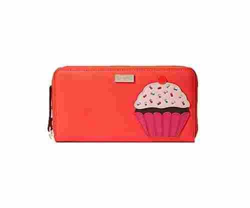 Kate Spade Take The Cake Cupcake Neda Continental Zip Wallet