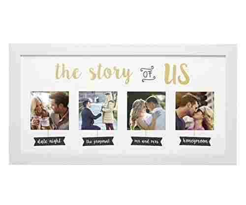 Kate & Milo 'The Story of Us' Photo Frame