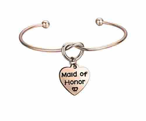 FEELMEM Jewelry for Bridesmaids – Simple Love Knot