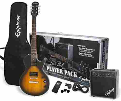 Epiphone PPEG-EGL1VSCH1 Les Paul Guitar Package