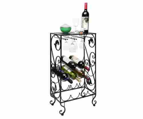 French Grapevine Motif – Wine Storage Organizer