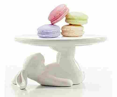 LA JOLIE MUSE Cupcake Stand – Ceramic Dessert Plate