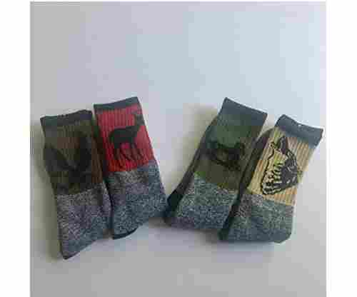 Call Of The Wild Men's Thermal Crew Socks