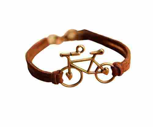 Bike Bracelet,Retro Bronze Bike Alloy Bracelet