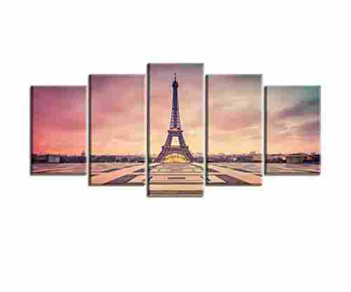 Paris Picture Canvas Prints for Bedroom