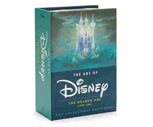 The Art of Disney: The Golden Age (1937-1961) Card Book