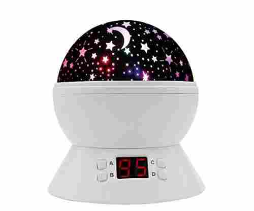 MOKOQI Rotating Star Sky Projection Night Lights