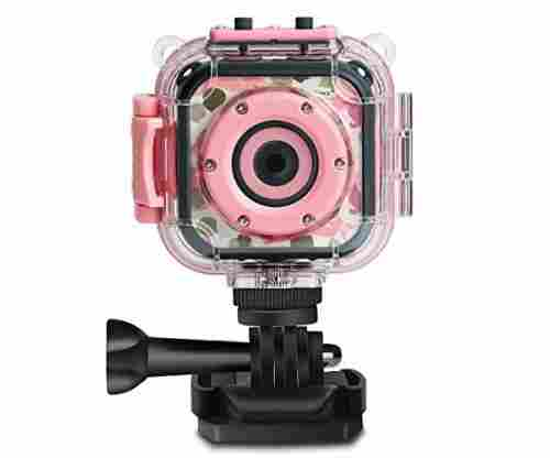 DROGRACE Kids Camera – Waterproof Digital Video HD Action Camera