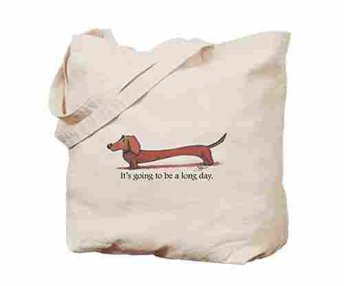 CafePress Long Day Dachshund Tote Bag