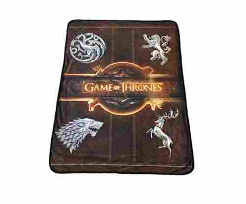 Rabbit Tanaka Game of Thrones Blanket – House Sigil Fleece Throw