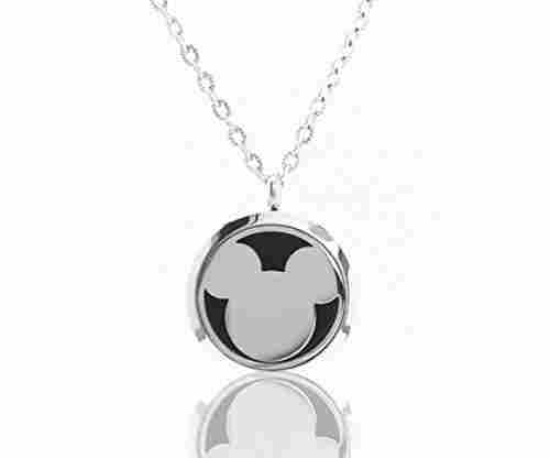 FIKA Mickey Mouse Aromatherapy Essential Oils Necklace