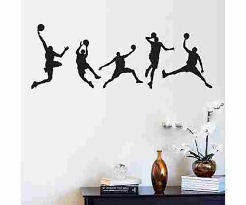 Basketball Wall Art Mural Removable Wall Stickers