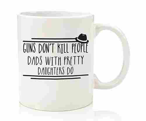 Guns Don't Kill – Pretty Unique Coffee Mug