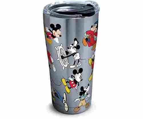 Mickey Mouse 90th Birthday Stainless Steel Tumbler with Lid