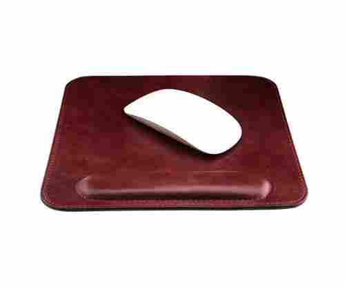 Genuine Leather Mousepad with Wrist Rest