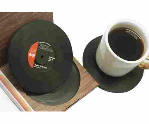 Vinyl Record Drink Coasters
