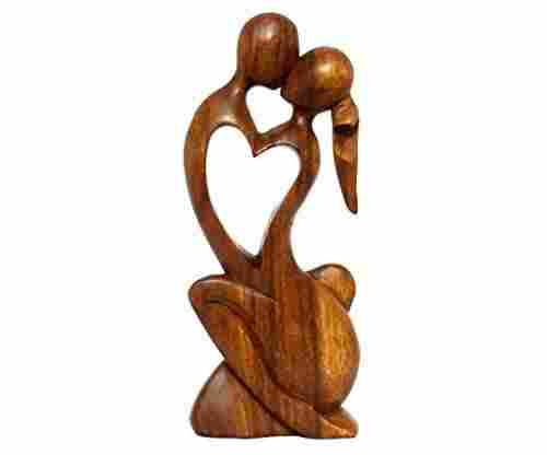 Wooden Love Statue