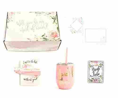 Maid of Honor Wedding Proposal Box Set
