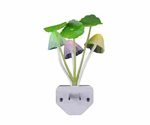 Color Changing Plug-in LED Mushroom Bed Lamp
