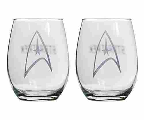 Star Trek Collectible Wine Glass Set