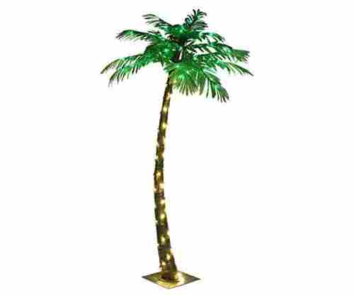 LIGHTSHARE 5ft Artificial Lighted Palm Tree