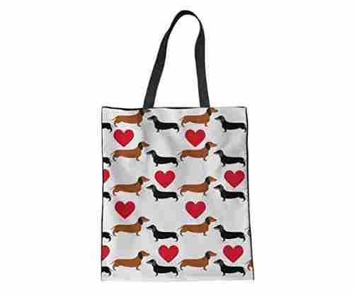 Upetstory Fashion Dachshund Tote Bag