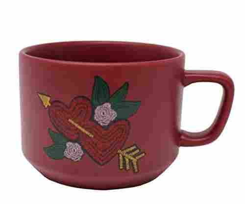 Starbucks Valentine's Day Hearts Ceramic Mug