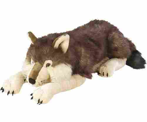 Jumbo Plush Wolf by Wild Republic