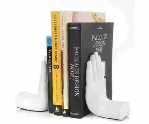 Tech Tools Desktop Madness Series Stop Hand Bookends