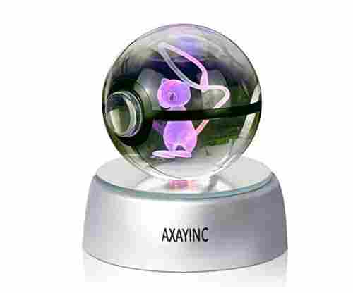 3D Crystal Ball LED Night Lights – Advance Laser Engraving