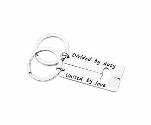 Military Matching Set – Divided by Duty Keychains