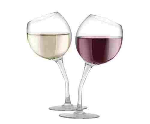 KOVOT Tilted Wine Glass Set, 13 oz