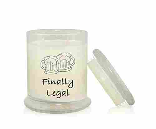 Finally Legal 8.5 oz. Soy Candle