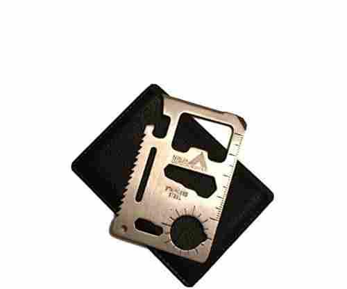 Ninja Outdoorsman 11 in 1 Stainless Steel Credit Card/Pocket Sized Survival Multi tool