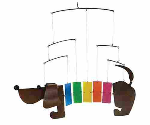 Dachshund Wiener Dog Mobile Windchime