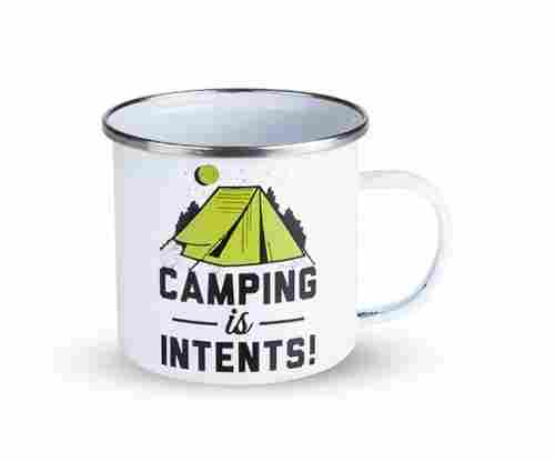 Camping Is Intents –  Enamel Camping and Outdoor Mug by Foster and Rye