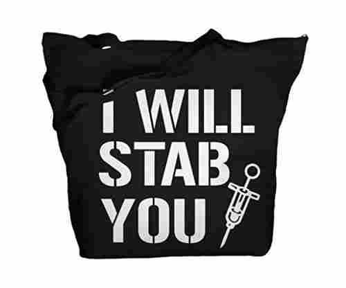 Shirts By Sarah Tote Bag Funny Nursing Bags