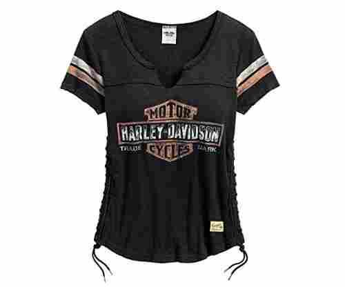 Harley Davidson Lace Side Tee