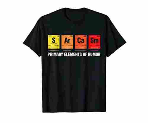 Science T Shirt – S Ar Ca Sm
