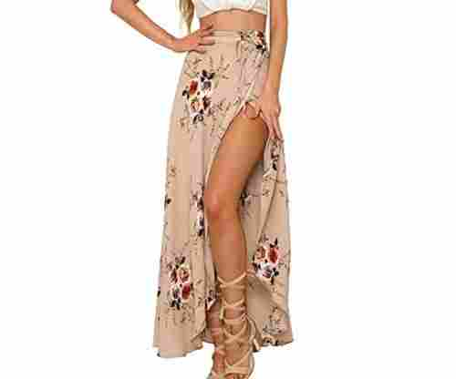 Yonala Womens Boho Floral Tie Up Waist Summer Beach Wrap