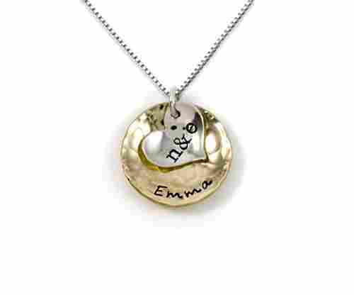 Sentimentally Close-Personalized Charm Necklace