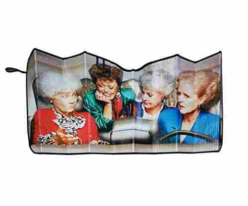 Golden Girls Windshield Sun Shade Visor Car Accessory
