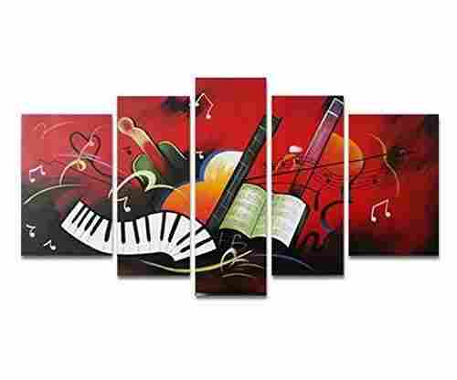 Music Score Wall Art