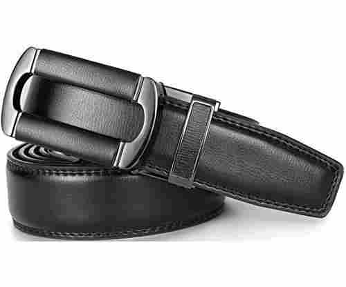 Marino Men's Ratchet Click Belt