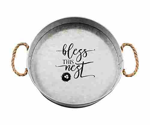 "Brownlow Kitchen ""Bless This Nest"" Serving Tray"