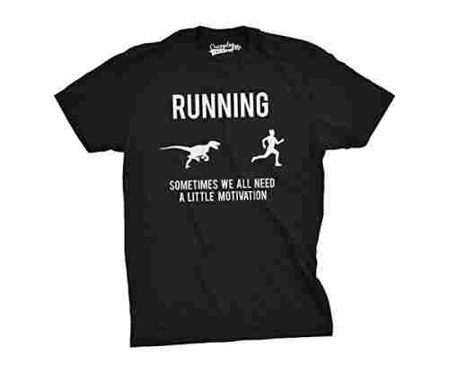 Mens Running Motivation Raptor Chase T-Shirt