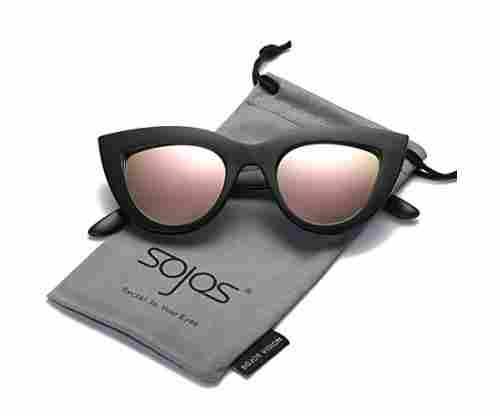 SojoS Vintage Cateye Sunglasses