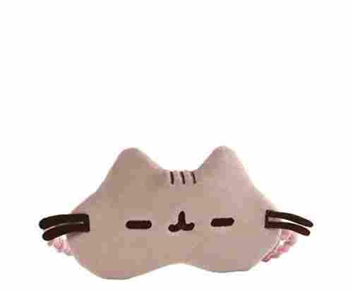 GUND Pusheen Stuffed Animal Sleep Mask