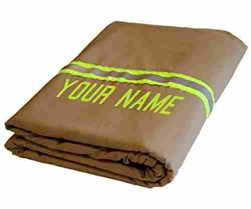 Fully Involved Stitching – Personalized Firefighter Station Blanket