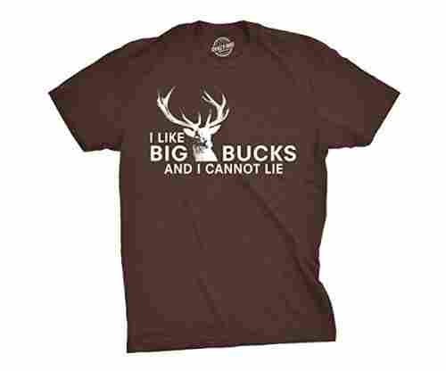 I Like Big Bucks and I Cannot Lie Funny T-Shirt